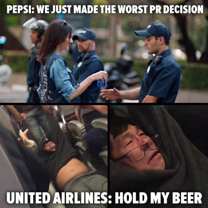 Pepsi and United PR Disaster